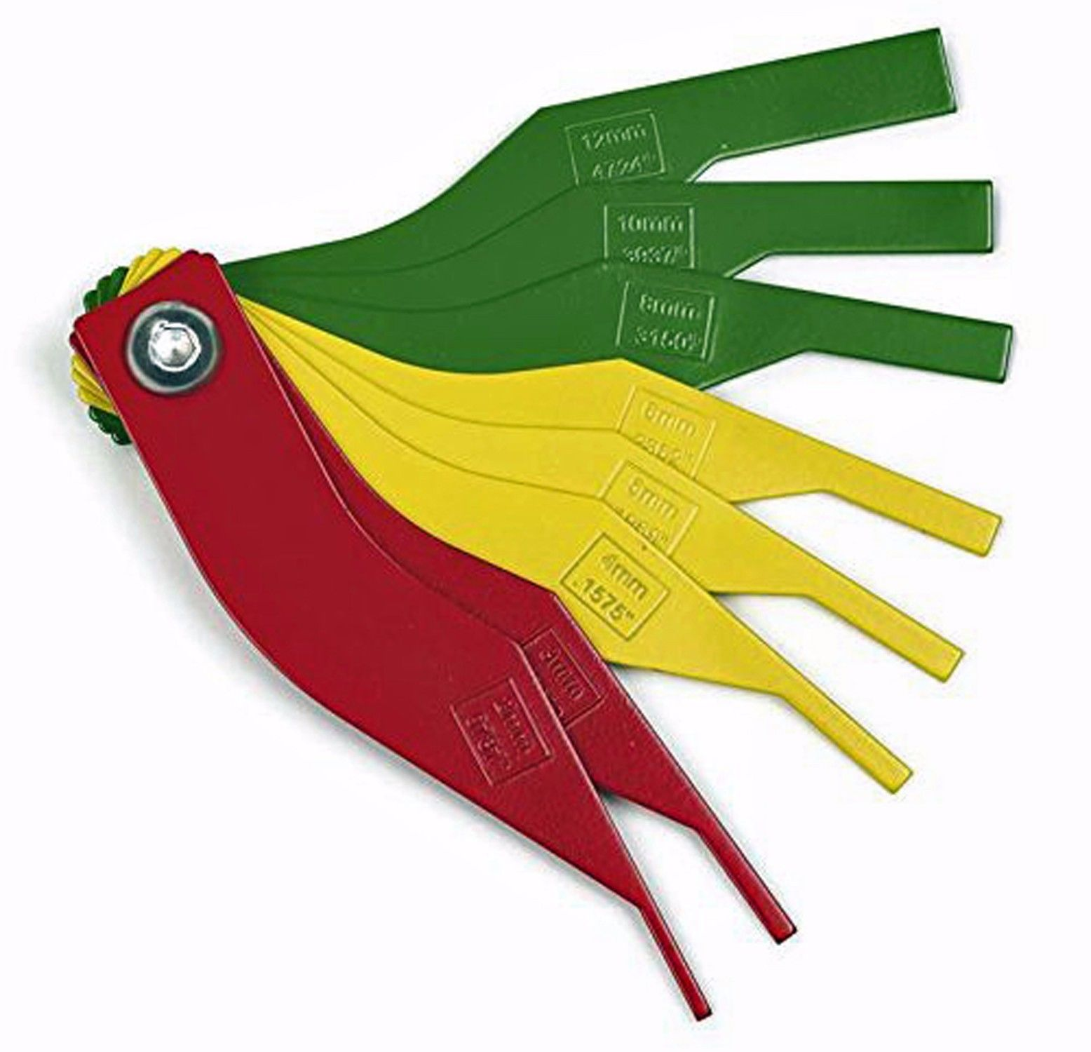 705 Brake Lining Thickness Gauge : In automotive brake pad feeler lining thickness gauge