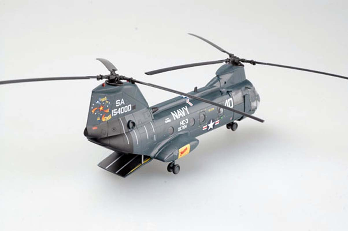 US Boeing CH-46 Sea Knight helicopter HC-3 DET-104 1/72 ...