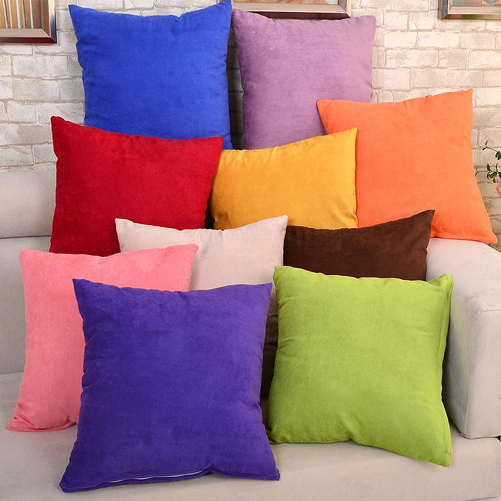 Cute Pillow Cases : 45*45cm Cute Sofa Couch Throw Pillow Case Pillowcase Cushion Cover Pink Coffee E eBay