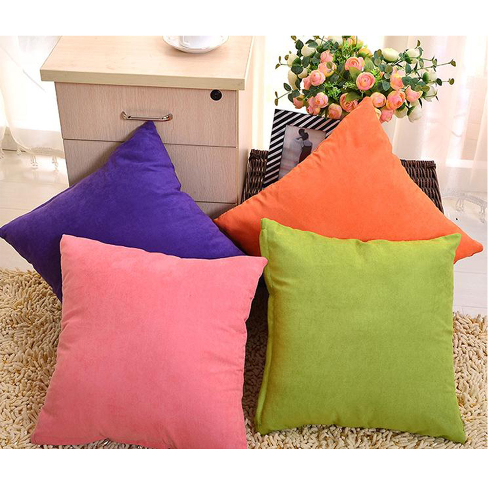 45*45cm Cute Sofa Couch Throw Pillow Case Pillowcase Cushion Cover Pink Coffee E eBay