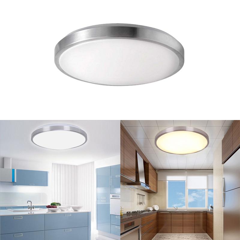 15w ip44 wasserdicht led deckenlampe deckenleuchte wandlampe innenleuchte rund ebay. Black Bedroom Furniture Sets. Home Design Ideas