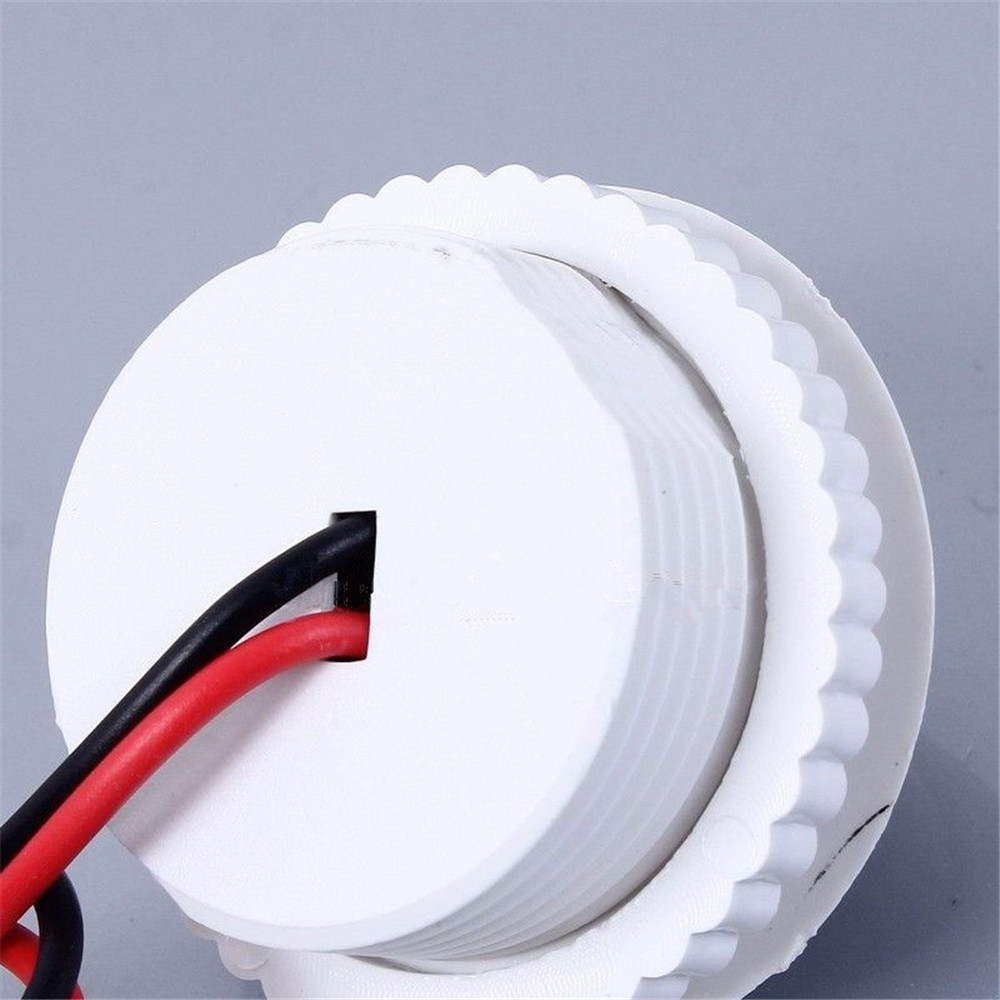 220V 50HZ PIR Induction Light Control Ceiling Lamp Body Infrared Switch UK