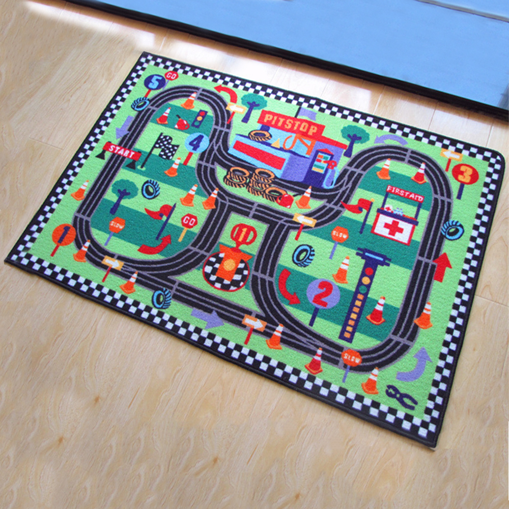 Floor Area Rug Baby Kids Child Play Mat Anti-slip Bedroom