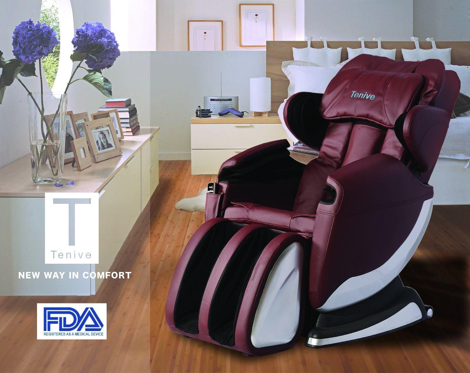 New full body shiatsu massage chair recliner w back roller for Full body shiatsu massage mat