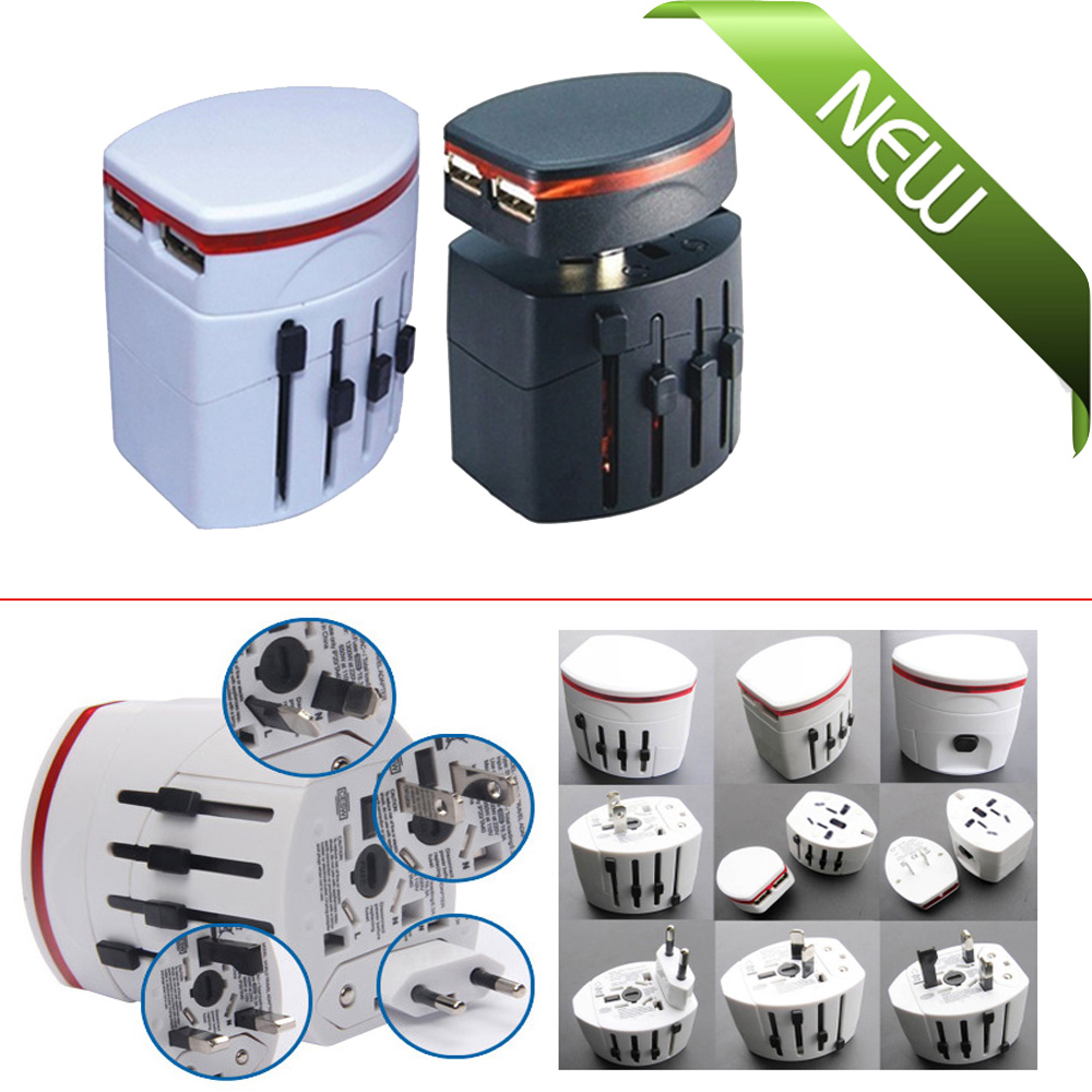 Universal World Wide Multi Ac Mains Travel Plug Charger
