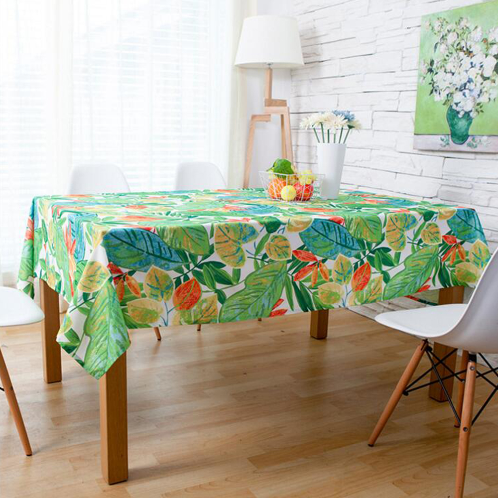 Countryside Waterproof Tablecloth Fabric Table Cloth ...