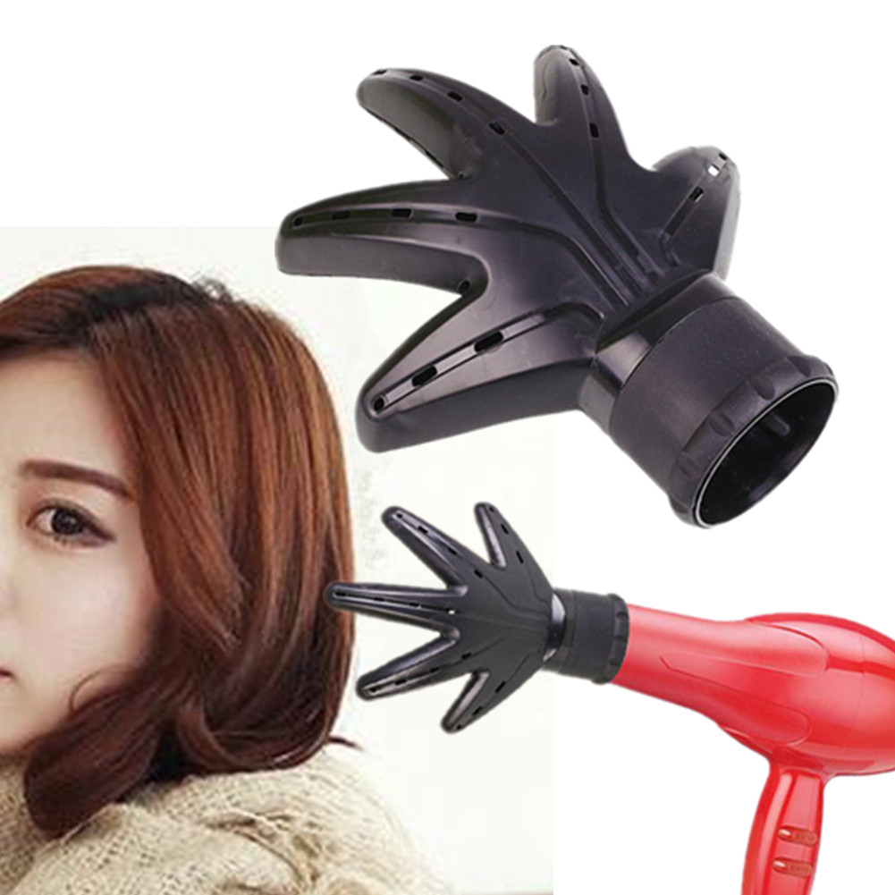 styling hair with hair dryer salon hairdressing shape hair dryer diffuser 5292