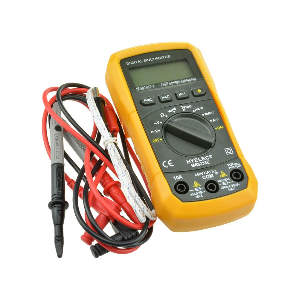 Multi Read Electrical Circuit Tester Meter Ac Dc Rolson Ebay