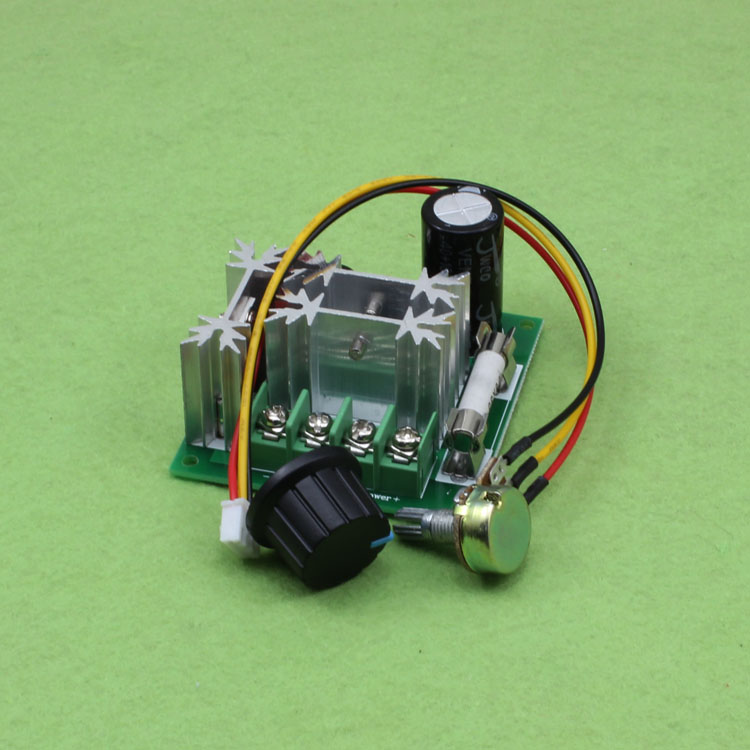 New 6 90v 15a Dc Motor Speed Controller Pulse Width Pwm