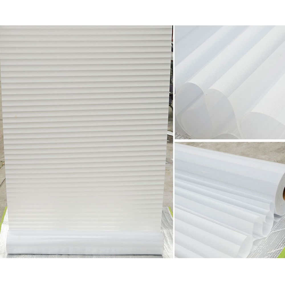 White Strips Frosted Vinyl Window Film Self Adhesive Bathroom Privacy Stickers Ebay