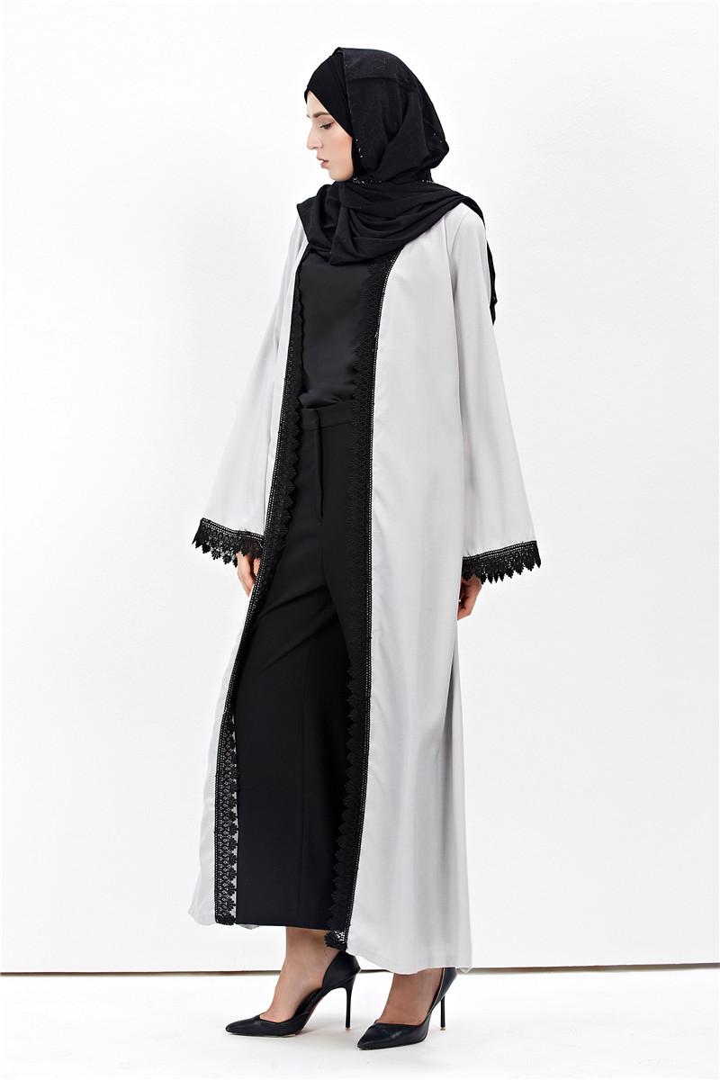 Ramadan Muslim Abaya Women Open Cardigan Kaftan Islamic Abaya Long ...