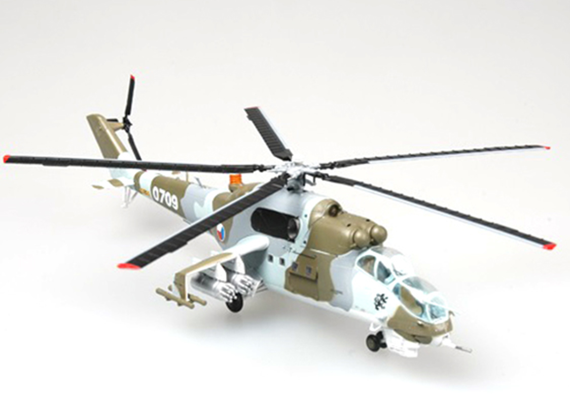 Czech air force Mil Mi-24 hind helicopter 1/72 diecast ...