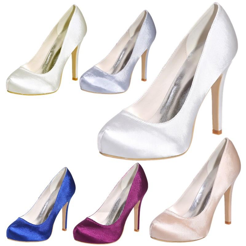 classic white wedding pumps bridal shoes prom
