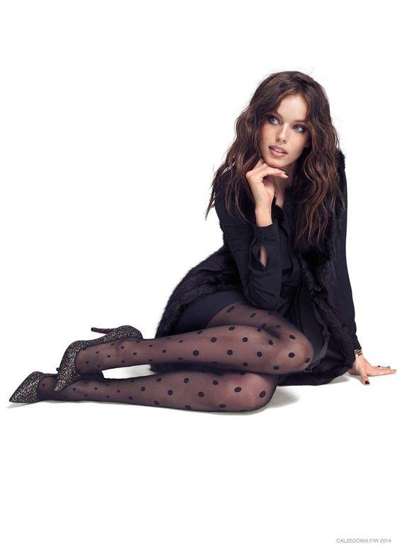 Slim model pantyhose agree