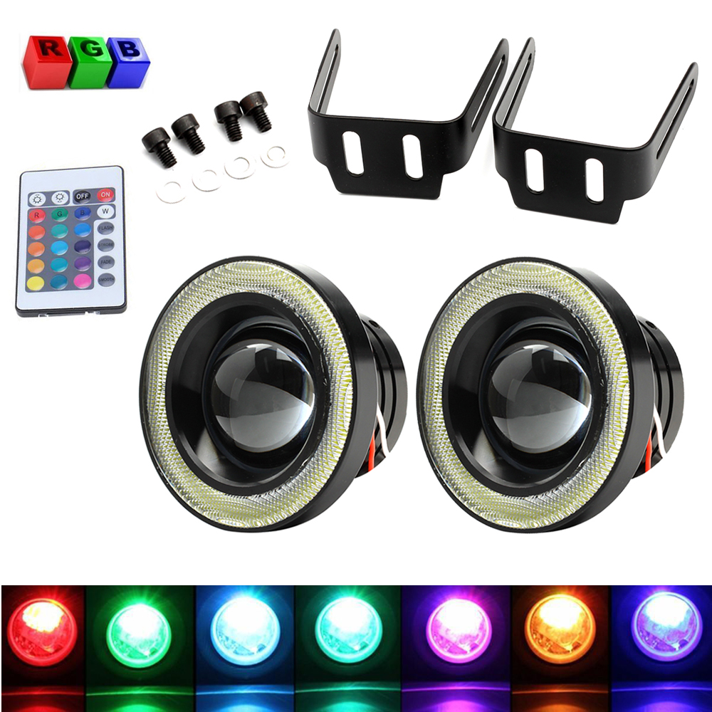 pair 3 0inch rgb led cob halo rings angel eyes fog light USB Wiring-Diagram USB Wiring-Diagram