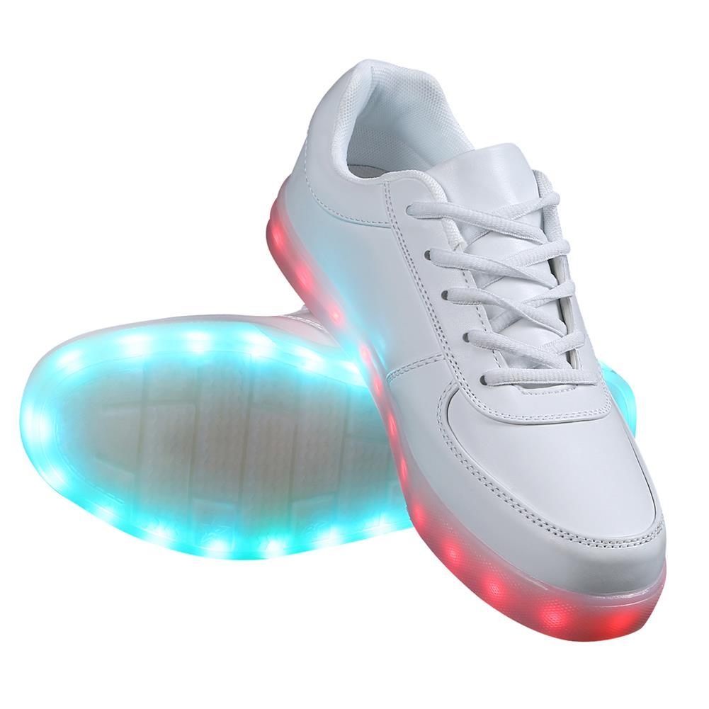 led schuhe licht sneaker leuchtende herren damen. Black Bedroom Furniture Sets. Home Design Ideas