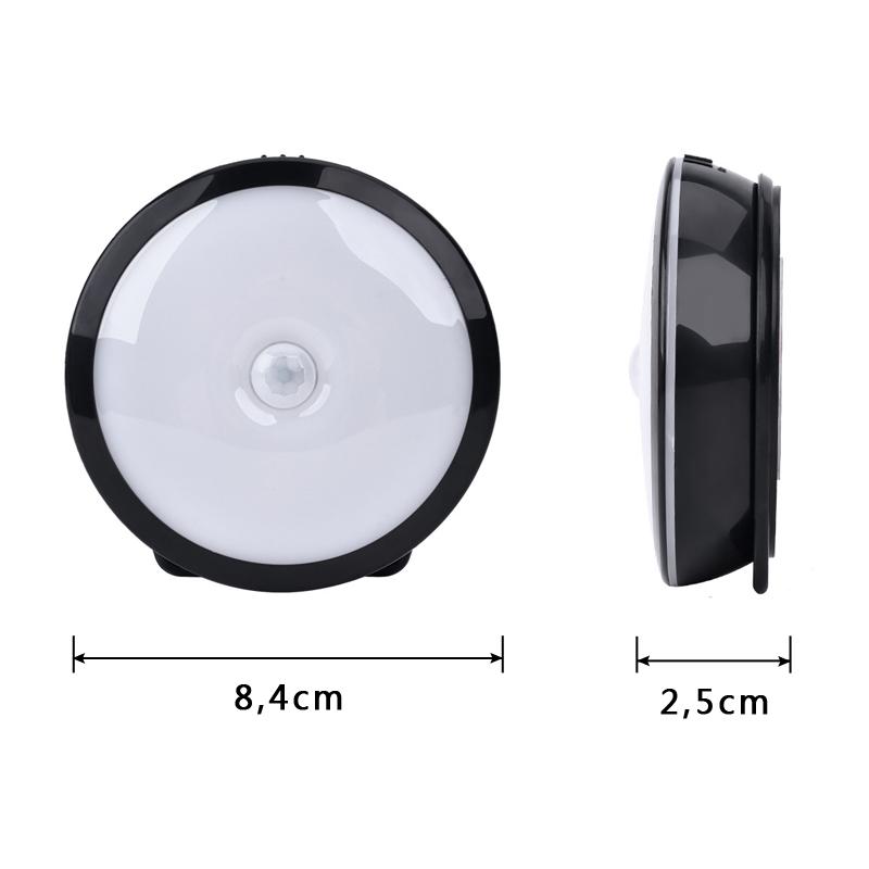 2er led nachtlicht nachtleuchte mit bewegungsmelder usb kabel sensor k che lampe ebay. Black Bedroom Furniture Sets. Home Design Ideas