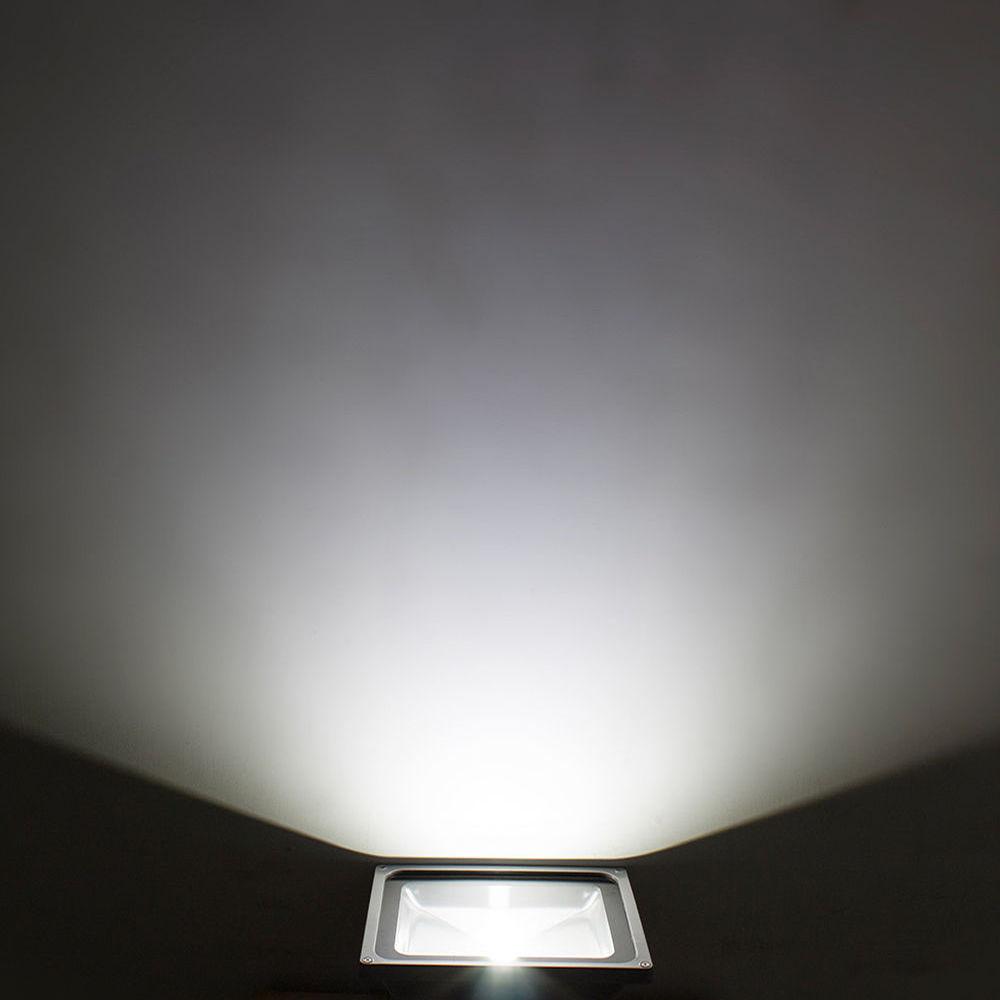 led 5x 30w au enbeleuchtung strahler fluter licht silber. Black Bedroom Furniture Sets. Home Design Ideas