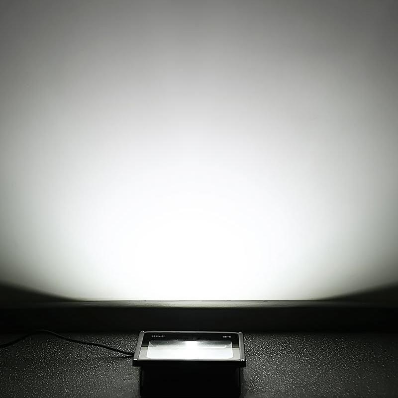 100w 150w led strahler ultraslim fluter flutlicht au en. Black Bedroom Furniture Sets. Home Design Ideas