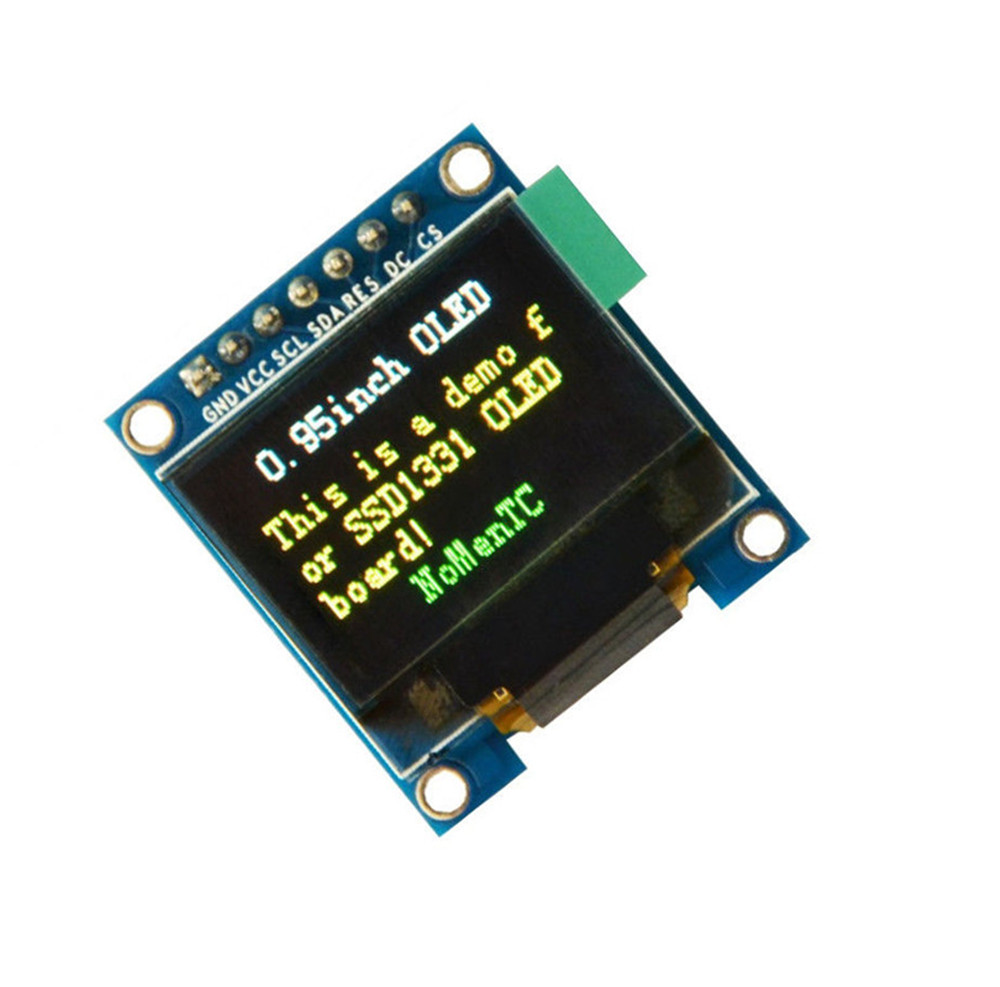 Inch spi full color oled display module ssd