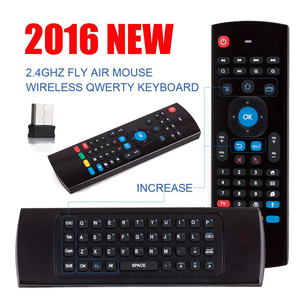 Kodi 2 4g Air Mouse Wireless Remote Controller F Xbmc