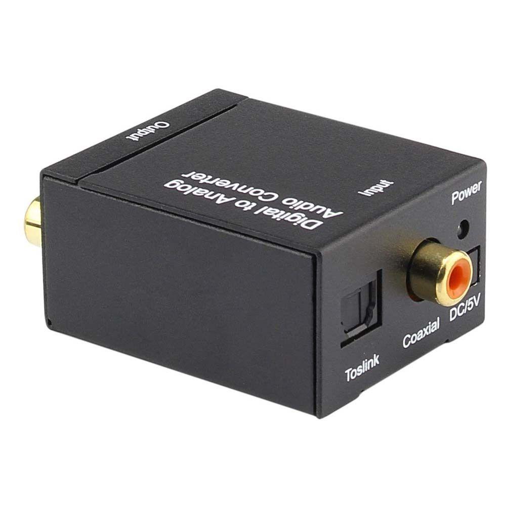 optical spdif toslink digital to analog audio converter adapter rca r l 1m cable ebay. Black Bedroom Furniture Sets. Home Design Ideas