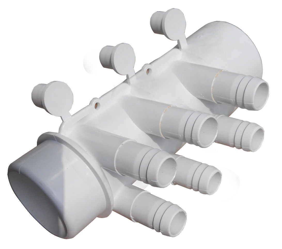 Spa Hot Tub Pvc Plumbing Manifold 2 Quot Slip X2 Quot Spigot 6x 3 4