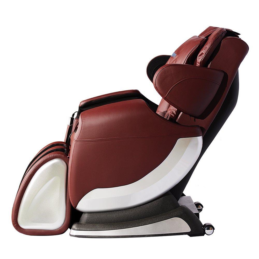New Full Body Shiatsu Massage Chair Recliner w Back Roller
