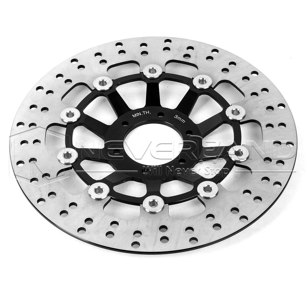 Round Friction Disc : Motor front brake disc rotors for honda cbr rr