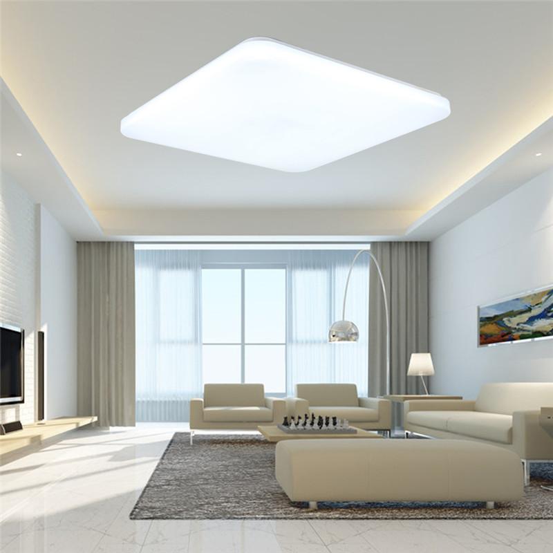 wandlampe deckenlampe led deckenleuchte acryl flurleuchte badlampe modern licht ebay. Black Bedroom Furniture Sets. Home Design Ideas