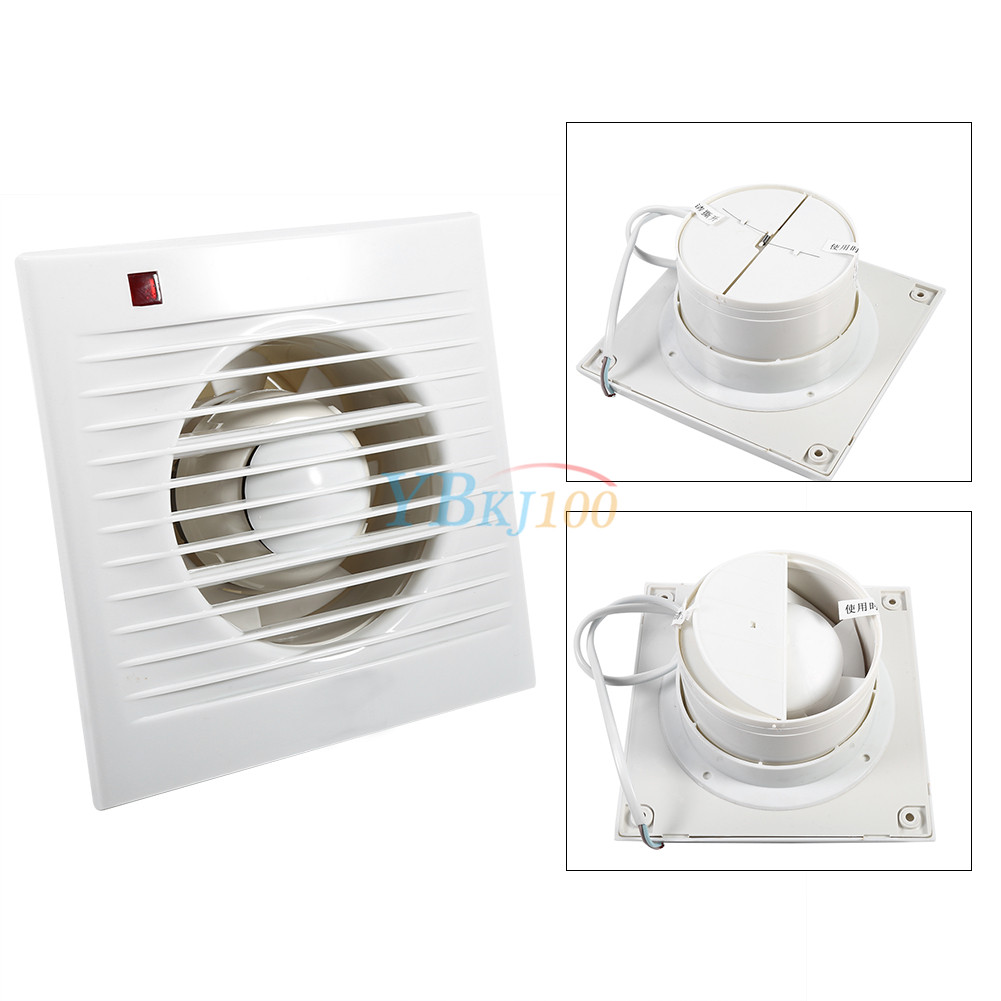 Eco friendly 2size extractor exhaust fan window wall for 8 bathroom extractor fan