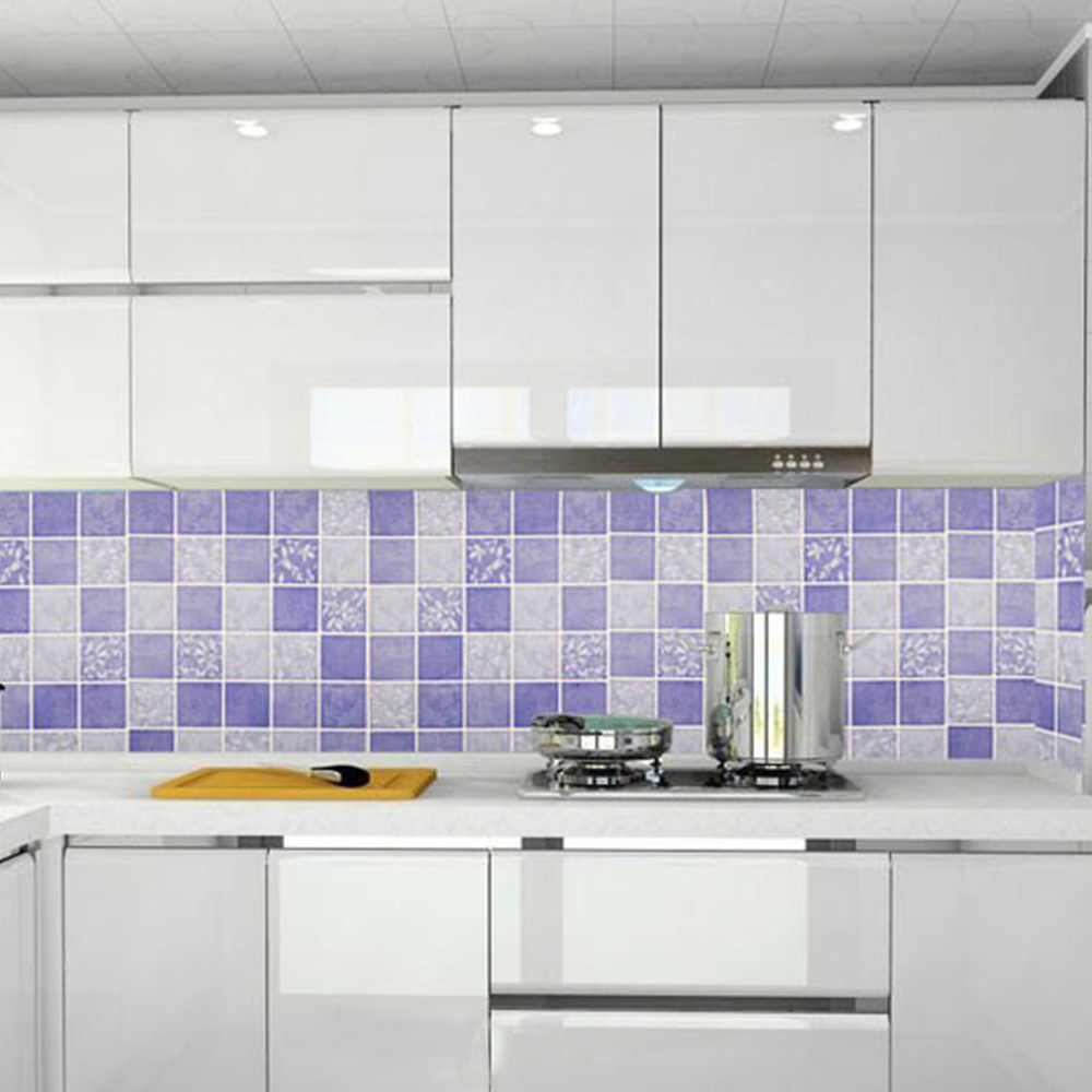 Wall Decor Contact Paper : Yazi self adhesive wallpaper purple contact paper wall