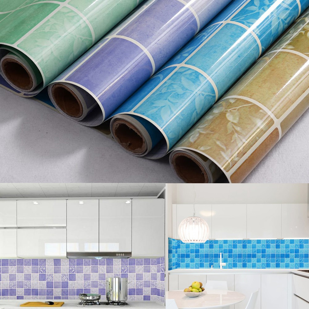 Mosaic Wallpaper Self Adhesive Pvc Contact Paper