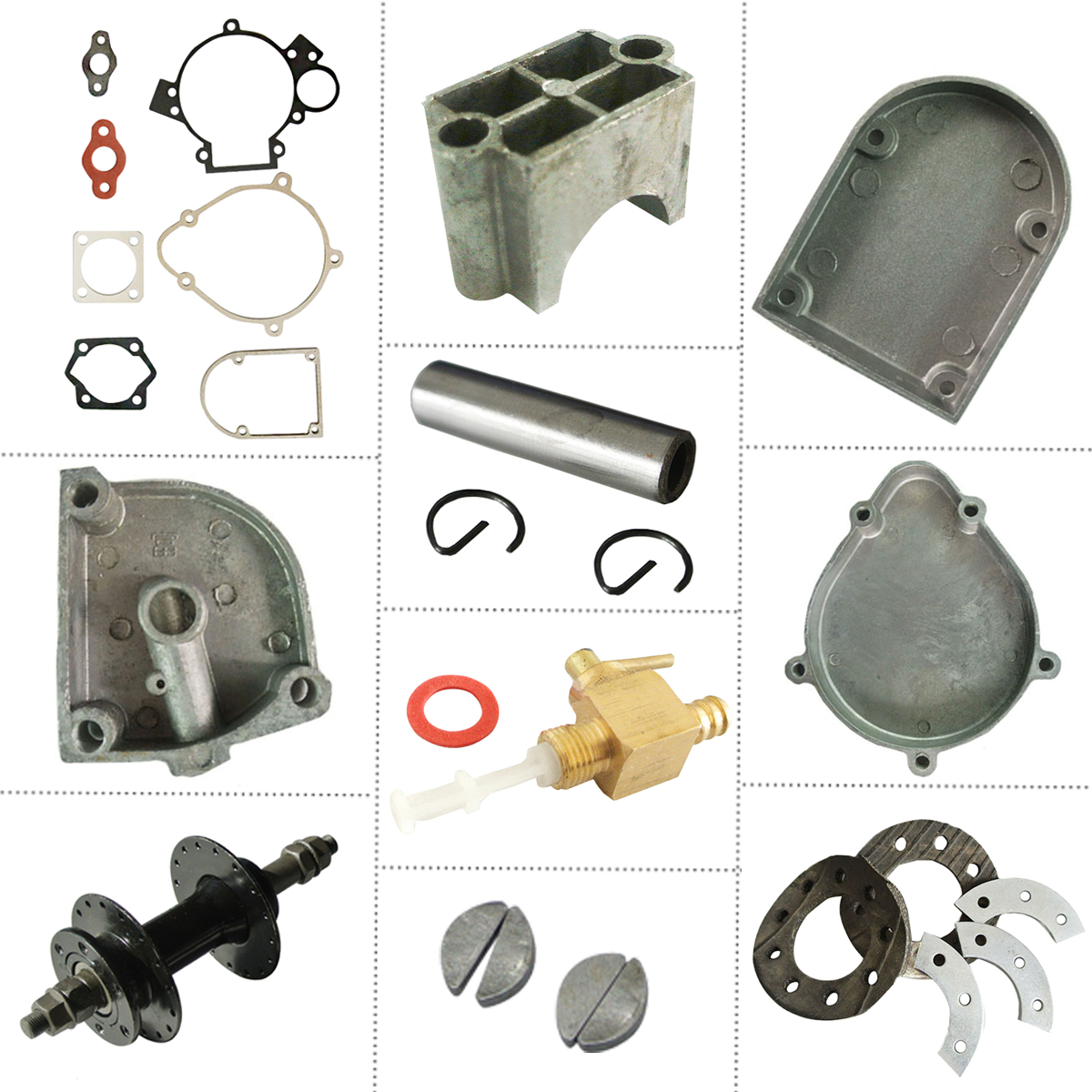 Bicycle Repair Parts : Cc stroke engine motorized bicycle bike replacement