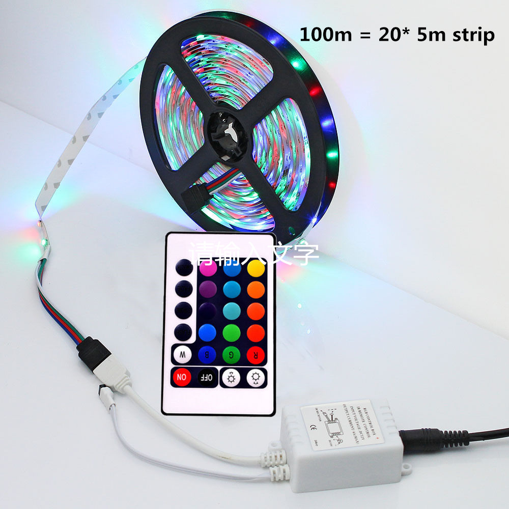 60leds m 5m 10m 20m 50m 100m led strip light rgb color changing strips lighting ebay. Black Bedroom Furniture Sets. Home Design Ideas