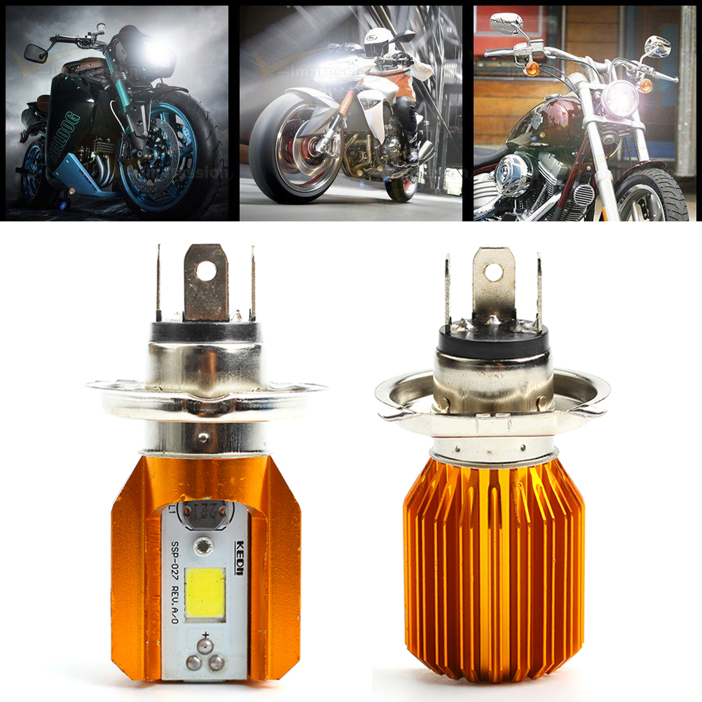 h4 cob led birnen scheinwerfer 6w smd 12v gl hlampe motorrad roller atv lampe eur 7 93. Black Bedroom Furniture Sets. Home Design Ideas