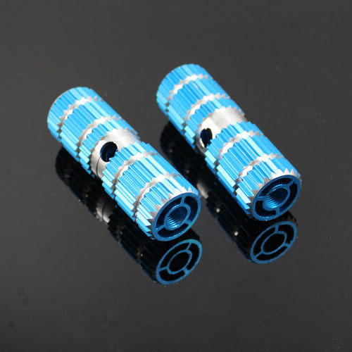 """1pair BMX Bike Bicycle Cylinder Aluminum Alloy 3//8/"""" Axle Foot Pegs Cann't Stand"""