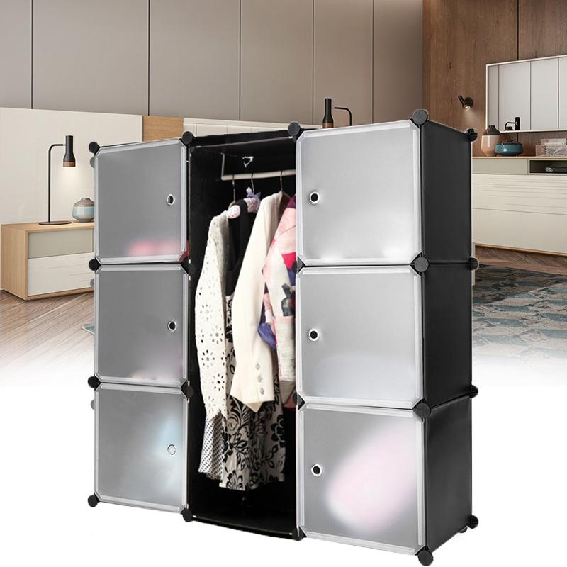 regalsystem kleiderschrank regal garderobe schrank steckregal schuhregal t ren ebay. Black Bedroom Furniture Sets. Home Design Ideas