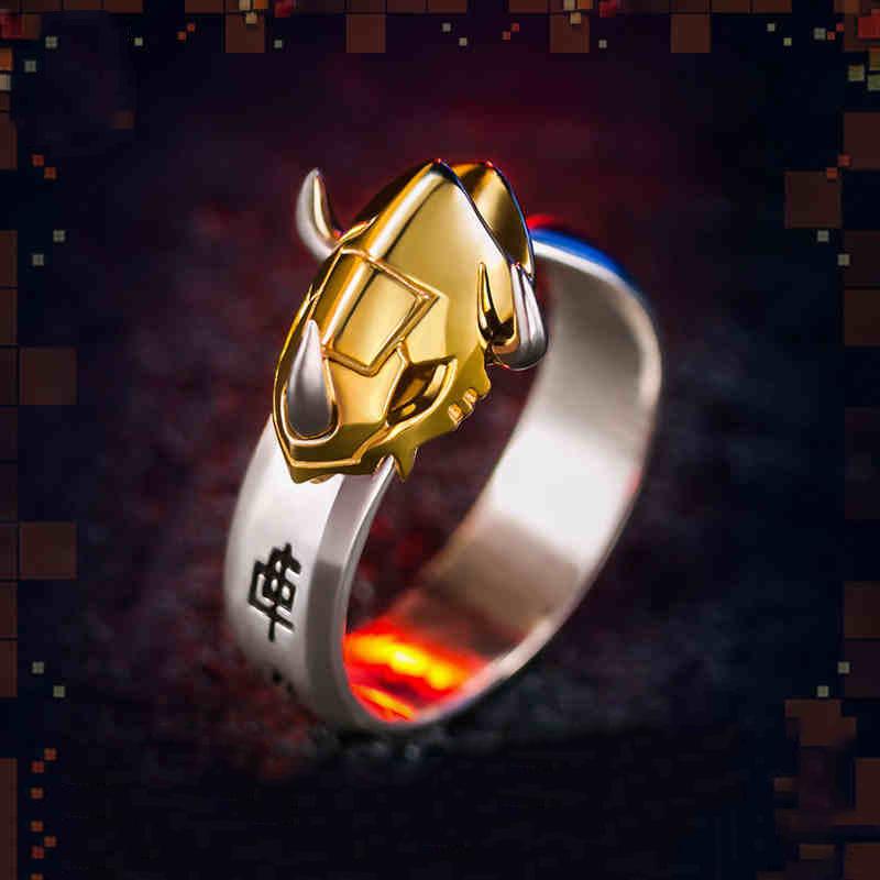 Resultado de imagen para WarGreymon MetalGarurumon  925 Sterling Silver Ring