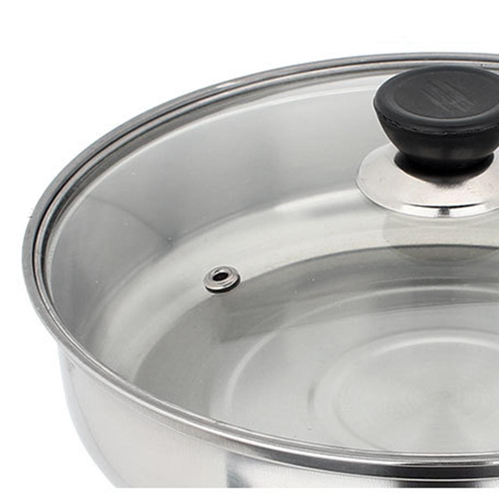12 pi ces de casseroles et po les en acier inoxydable avec couvercle en verre ebay. Black Bedroom Furniture Sets. Home Design Ideas