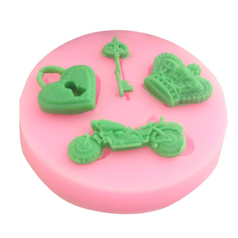 Cake Decorating Sugarcraft Moulds : New Silicone Fondant Mould Cake Mold Chocolate Baking ...