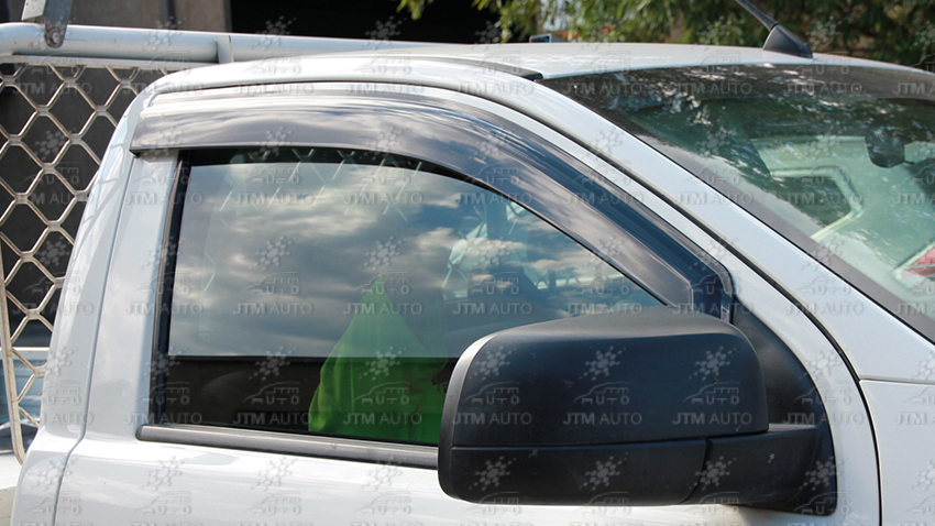 Injection Weather Shields Visors Weathershields For Ranger Single Cab 2012-2018