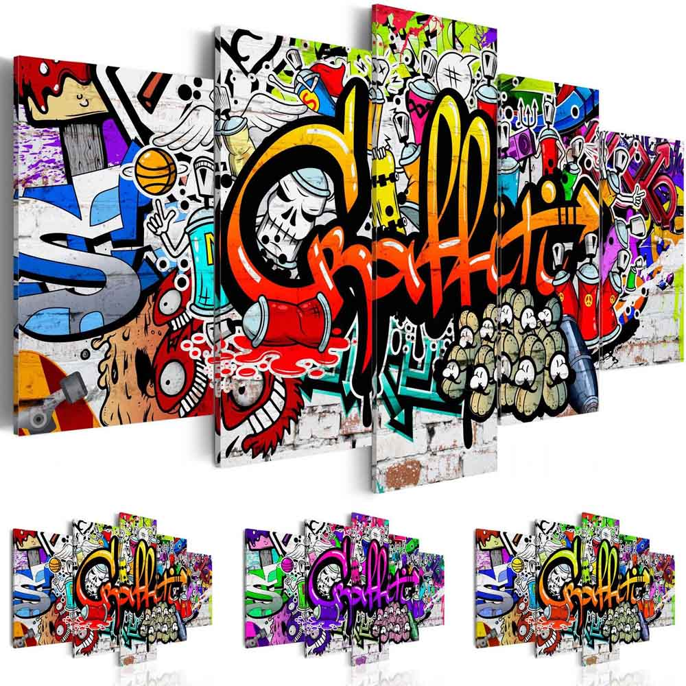 Canvas Print Picture Wall Art Decor Home Abstract Street