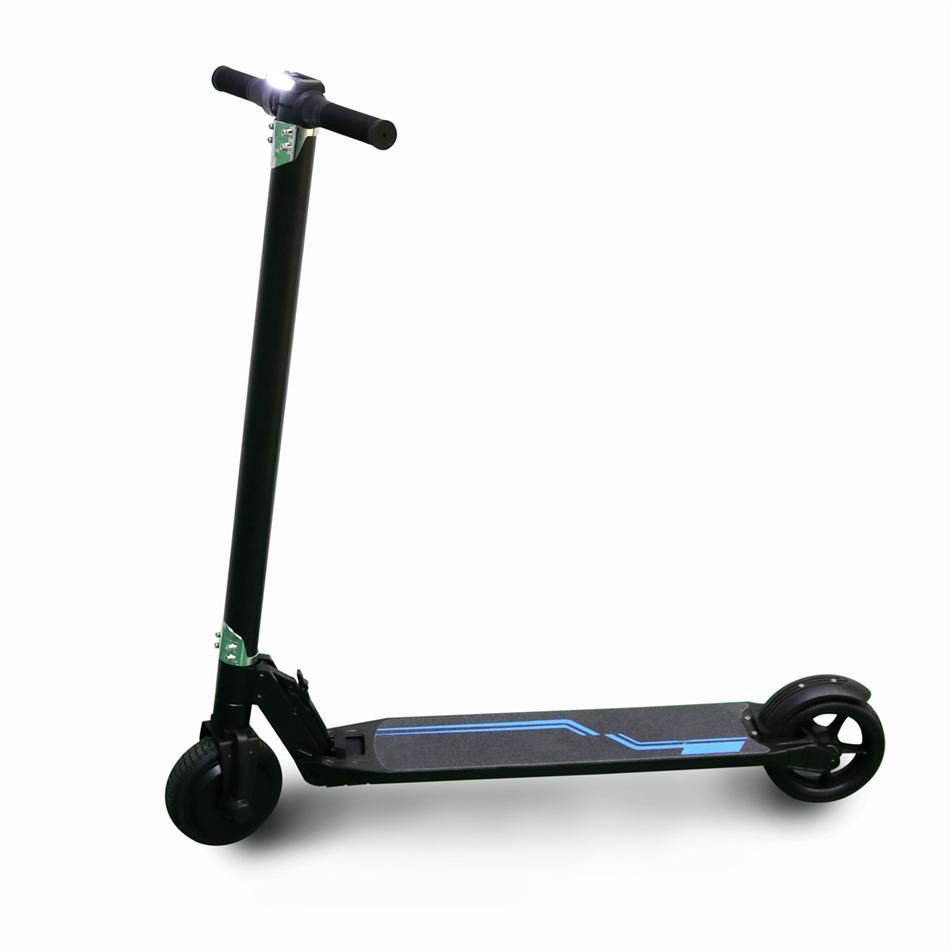 electric scooter ride kick carbon fiber scooter adult kid. Black Bedroom Furniture Sets. Home Design Ideas