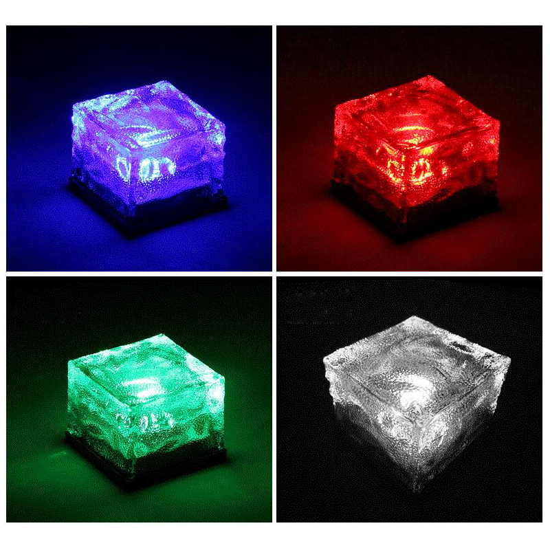 2 4 6er solar bodenleuchte gartenlicht led bodenstrahler solar au en leuchte rgb ebay. Black Bedroom Furniture Sets. Home Design Ideas