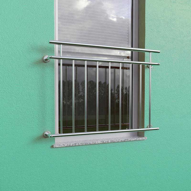 balkongitter fenstergitter balkon balkongel nder stabgel nder absturzsicherung ebay. Black Bedroom Furniture Sets. Home Design Ideas