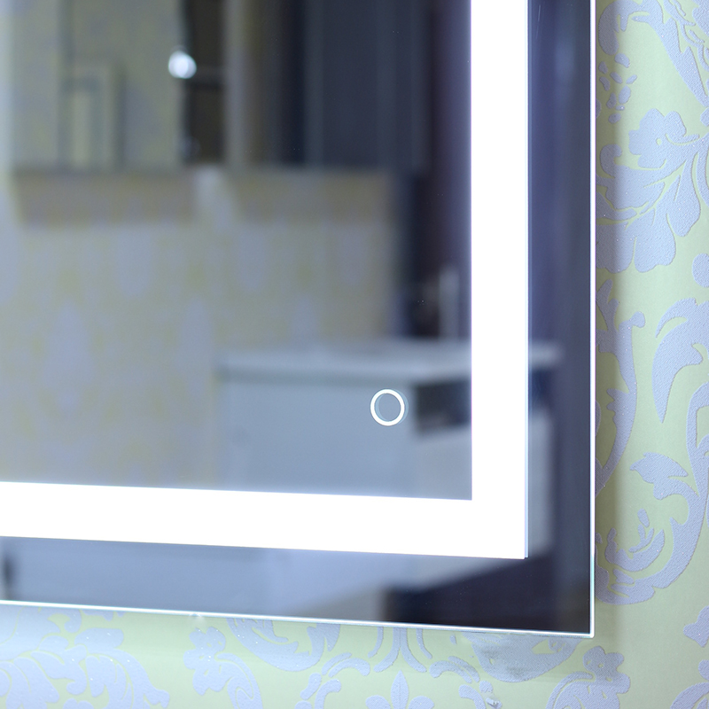 multi sizes illuminated led bathroom mirror with light