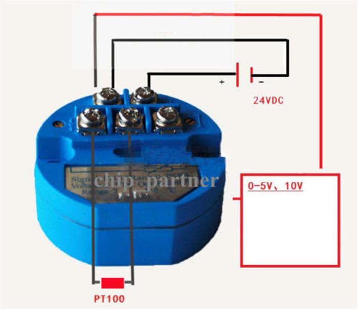 4 20ma 100 100℃ Rtd Pt100 Sbw Temperature Sensor
