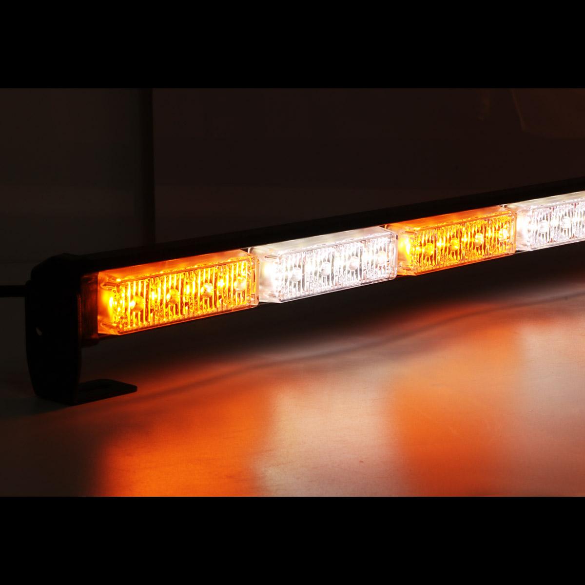 31 28 led emergency warning traffic advisor flash strobe. Black Bedroom Furniture Sets. Home Design Ideas