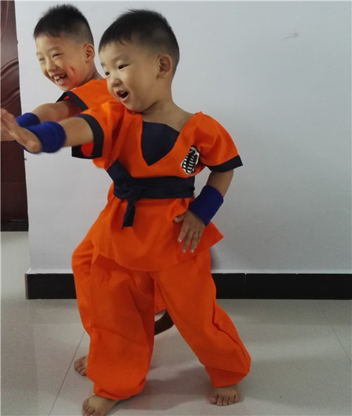 Detail  sc 1 st  eBay & Dragon Ball Z Son Goku Children Costume Kids Boys Cosplay Set Party ...